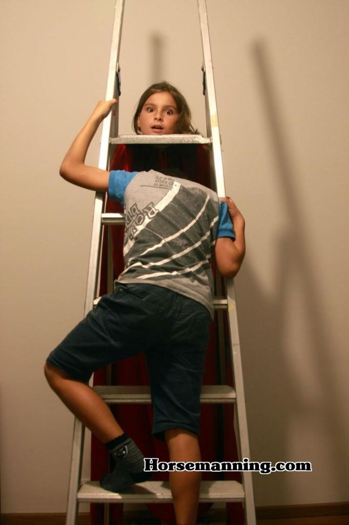 Horsemanning With Ladders | Horsemaning & Horsemanning