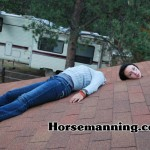Horsemanning The Roof