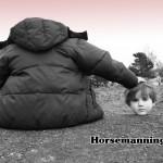 Wrekin Horseman.  Tim.