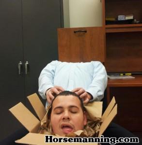 Horsemanning a Box