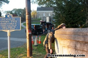 Horsemanning in Sleepy Hollow, NY